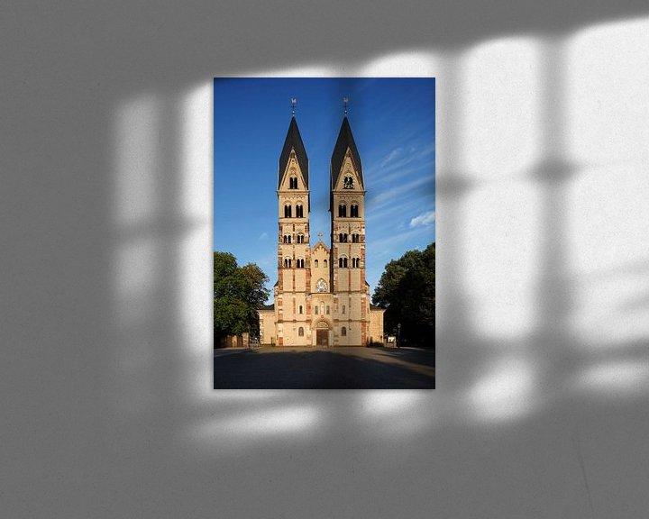 Sfeerimpressie: Basiliek St. Kastor, Koblenz, Rijnland-Palts, Duitsland van Torsten Krüger