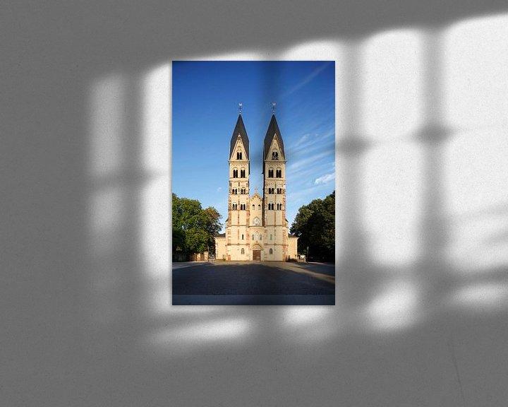 Beispiel: Basilika St. Kastor, Koblenz, Rheinland-Pfalz, Deutschland von Torsten Krüger