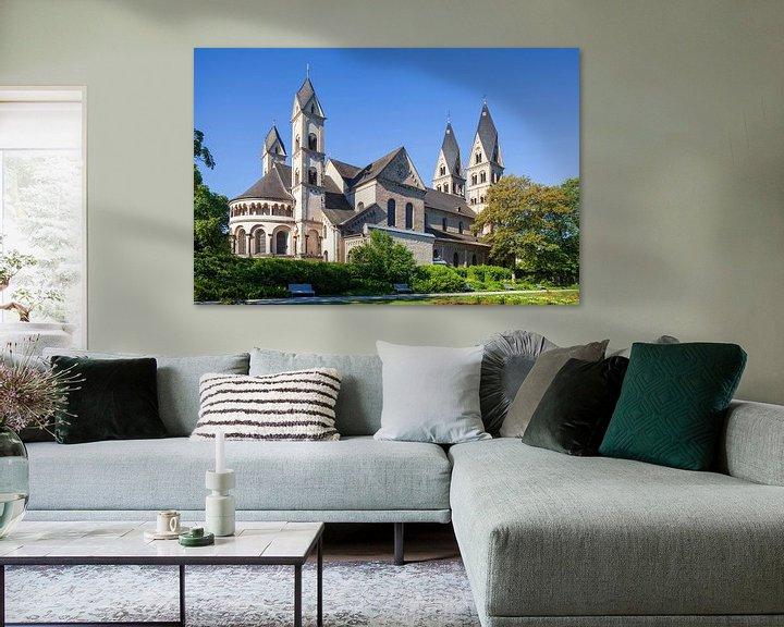 Beispiel: Basilika St. Kastor, Koblenz, Rheinland-Pfalz, Deutschland, Europa von Torsten Krüger