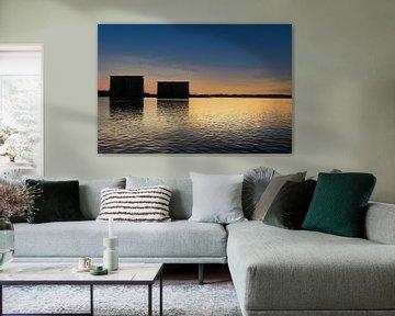 Water Towers van Lynlabiephotography