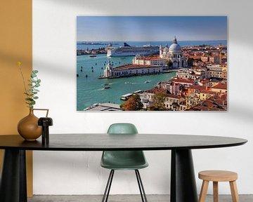 Venise vue de la tour de l'horloge de San Marco sur Jan Kranendonk