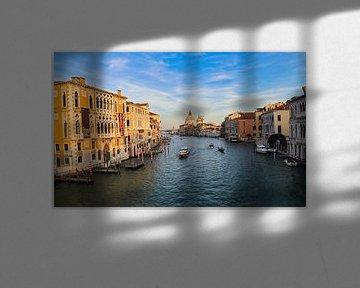 Le Grand Canal à Venise sur Jan Kranendonk