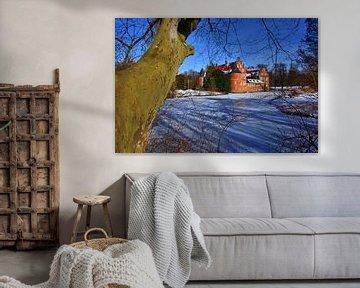 Winter Kasteel van Edgar Schermaul