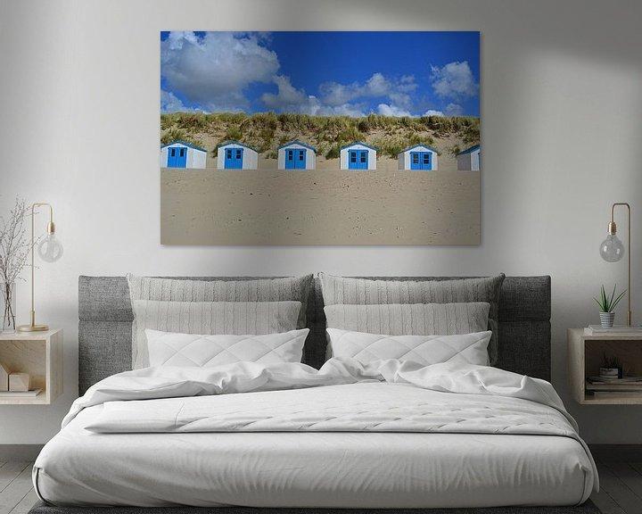 Sfeerimpressie: Strandhuisjes in De Koog op Texel van JTravel
