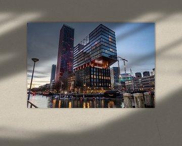 Der Rote Apfel Rotterdam von Fabio Holkema
