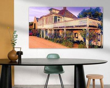 Altes charakteristisches Haus Edam von Digital Art Nederland