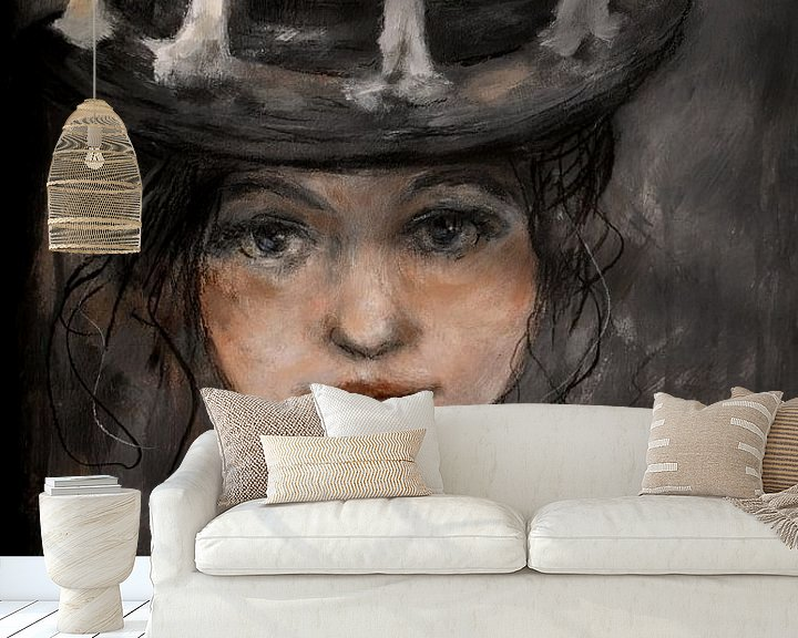 Sfeerimpressie behang: light van Christin Lamade