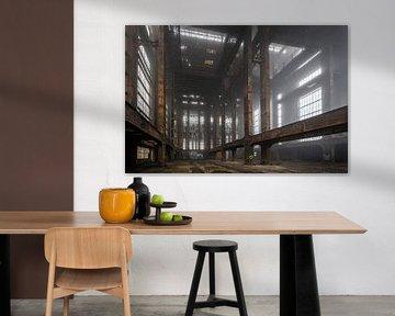 Verlaten fabriek in Belgie | ECVB Centrales electriques