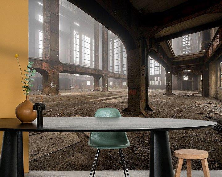 Sfeerimpressie behang: urbex exploration energiecentrale | ECVB Centrales electriques van Steven Dijkshoorn