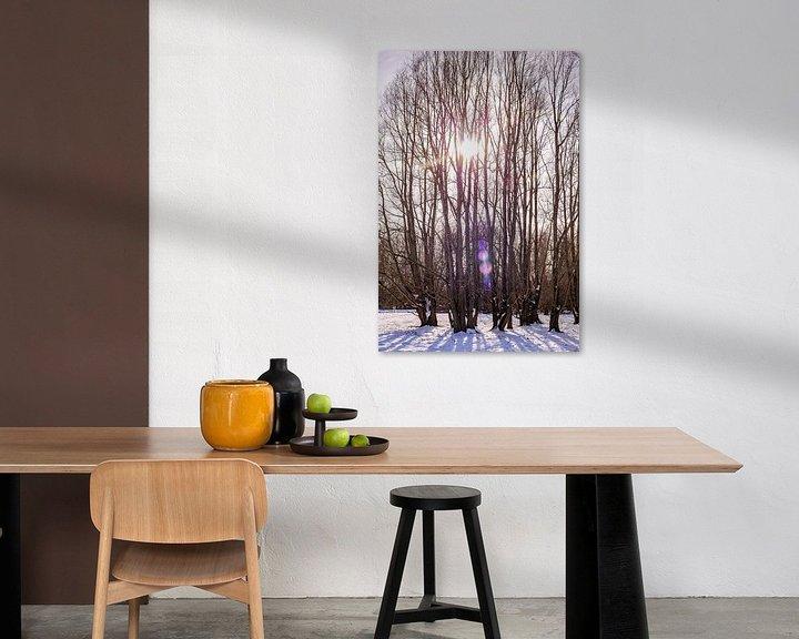 Sfeerimpressie: Winter & Sneeuw Oud Verlaat - Landschap nr. 2 van Deborah de Meijer