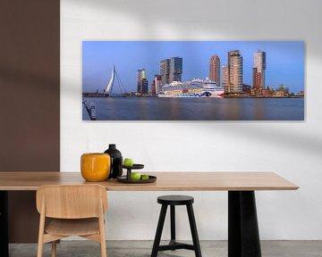 AIDA aan kop van zuid van Prachtig Rotterdam