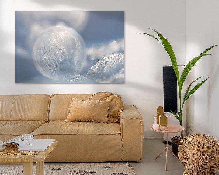 Sfeerimpressie: Bevroren Bellenblaas Bubbel bel van Wendy de Waal
