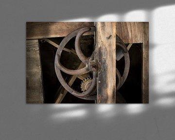 Alte Rad-Wassermühle von Yke de Vos