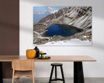 Het heilige meer van Gosainkunda van Gerhard Albicker