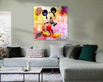 Mickey Mouse Pastel van Rene Ladenius Digital Art