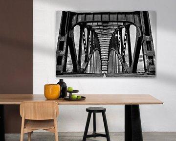 IJsselbrücke Zwolle von Taco Bijlsma