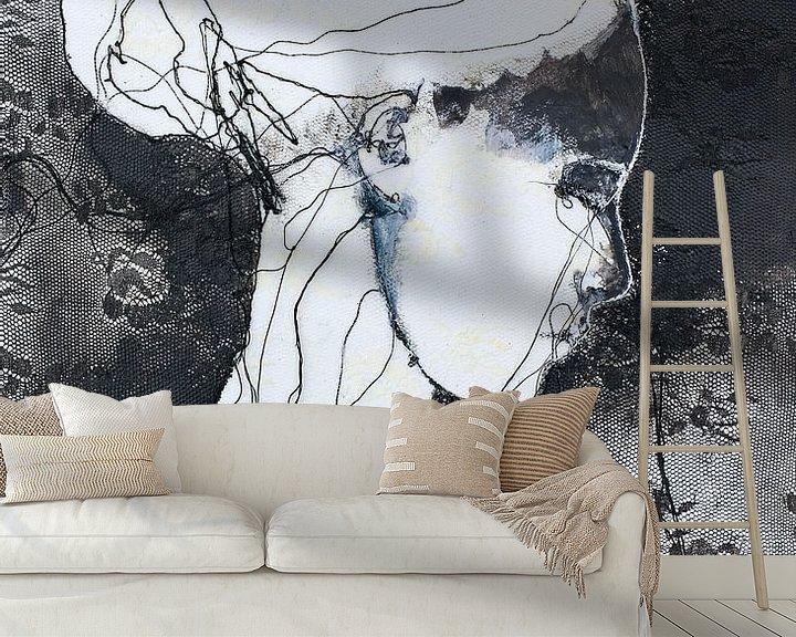 Beispiel fototapete: 'Discombobulated' von Kim Rijntjes