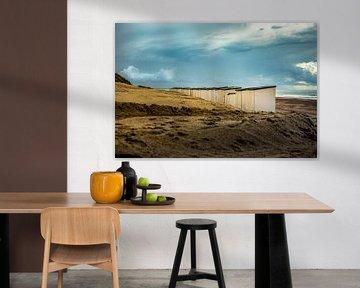 Strandhuisjes van Oscar Limahelu