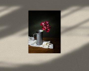 Alstroemeria, klassisches Stillleben von Joske Kempink