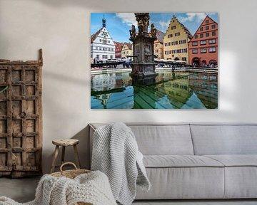 Oude binnenstad van Rothenburg ob der Tauber van Animaflora PicsStock
