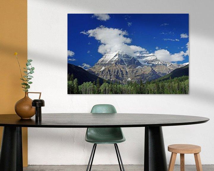 Sfeerimpressie: Mount Robson van Reinhard  Pantke