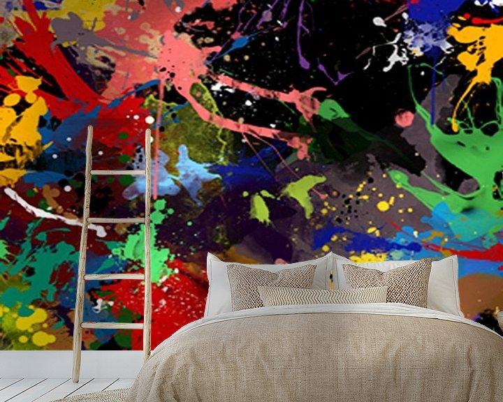 Sfeerimpressie behang: Volle kleur van Kathleen Artist Fine Art