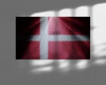 Deense vlag van BVpix