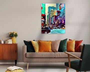 New York, New York van Kathleen Artist Fine Art
