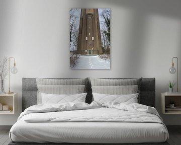 Aaltener Wasserturm von Hans Monasso