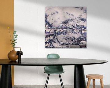 Abstract Inspiratie LVII van Maurice Dawson