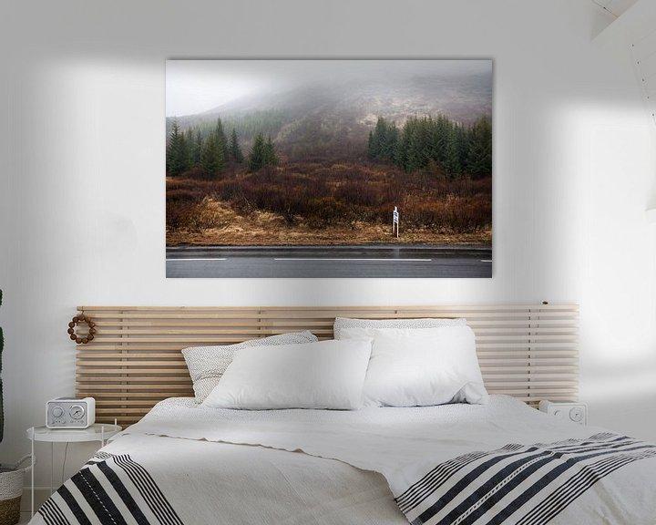 Sfeerimpressie: Ijslands bos van W Machiels