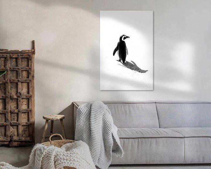 Beispiel: Pinguin von Katrin Engl
