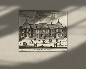 Palast Honselaarsdijk, Carel Allard, 1689-1702