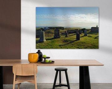Friedhof in Kilmuir Flora MacDonalds Grab von Babetts Bildergalerie