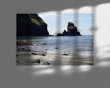 La plage de Talisker est située près du village de Carbost sur l'île de Skye sur Babetts Bildergalerie