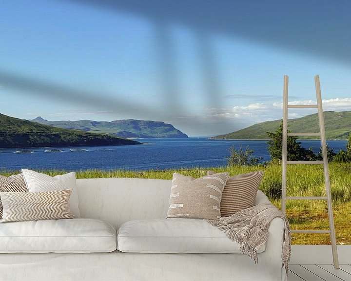 Sfeerimpressie behang: Schotland is vol met prachtige landschappen overal waar je kijkt. van Babetts Bildergalerie