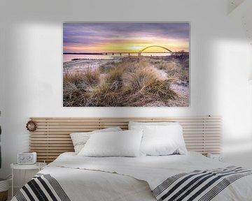 Sonnenuntergang auf Fehmarn von Steffen Henze