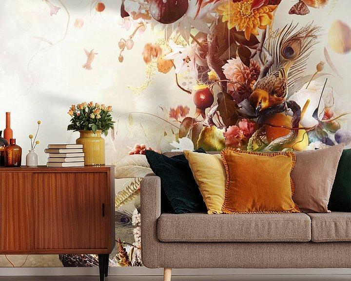 Sfeerimpressie behang: Abundance van Jesper Krijgsman
