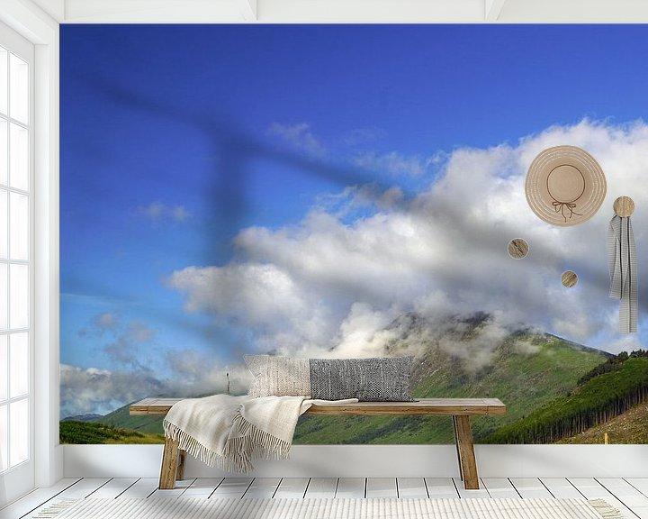 Sfeerimpressie behang: Het kleurrijke Glen Etive in Schotland. van Babetts Bildergalerie