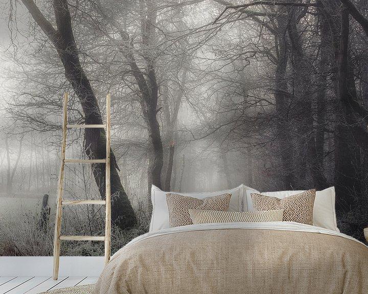 Sfeerimpressie behang: Bevroren mysterieus pad van Peschen Photography