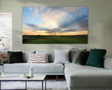 Texelse golfbaan golf foto Texel van Peter van Weel