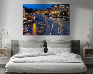 Canal Grande, Venetië van Rob van Esch
