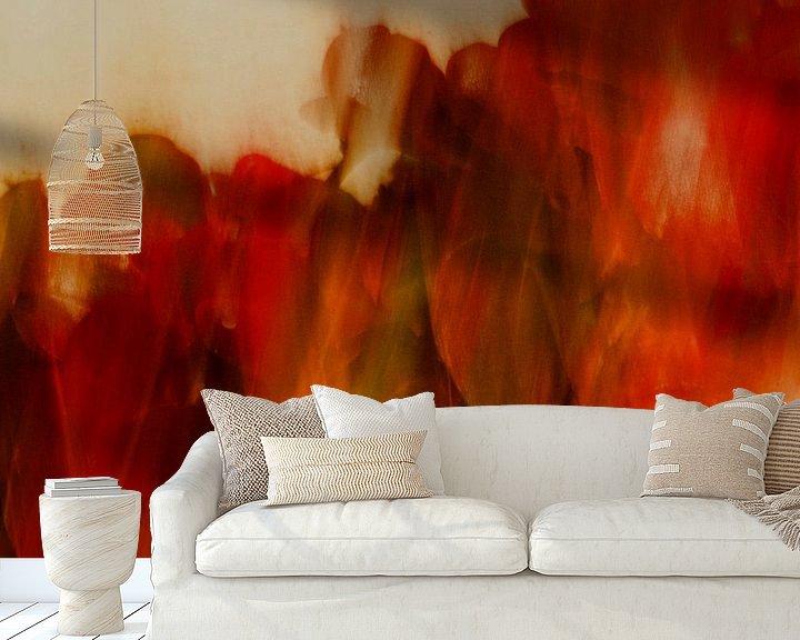 Beispiel fototapete: Abstrakte Natur von Marijke van Loon