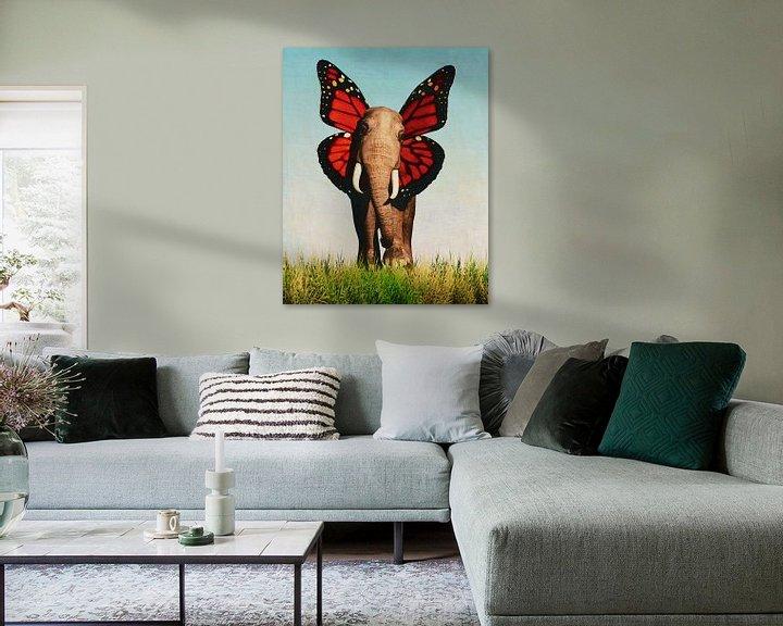 Sfeerimpressie: Vriendelijke Olifant van Jan Keteleer