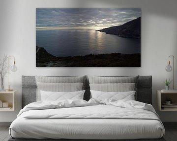 coucher de soleil sur les falaises de la Slieve League en Irlande sur Babetts Bildergalerie