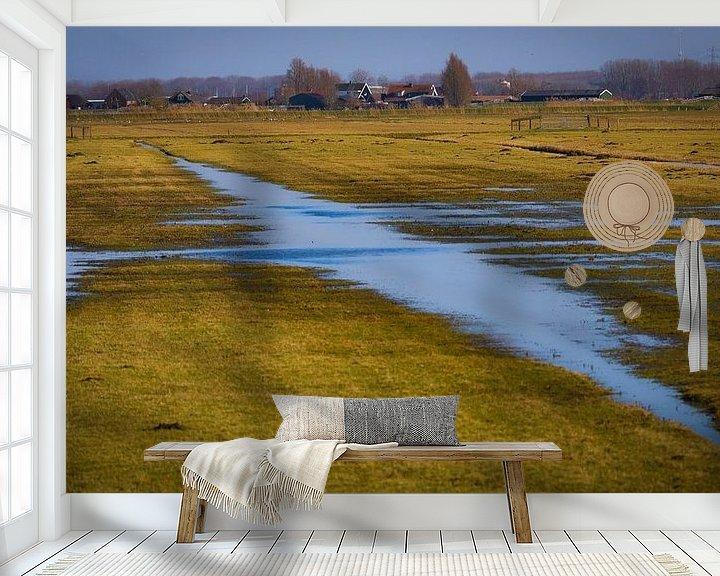 Impression: Paysage des polders néerlandais sur Anita van Gendt