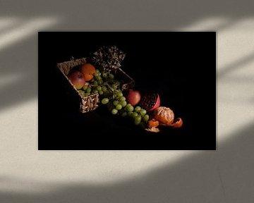 Stilleven fruit van Joke Beers-Blom