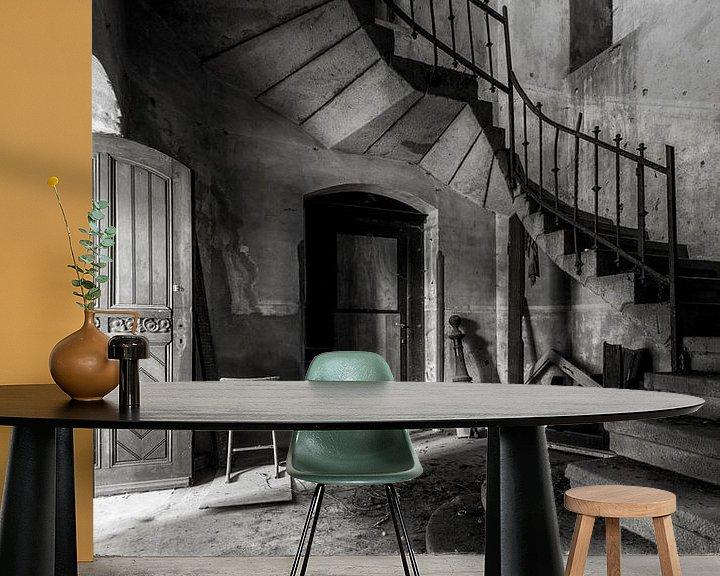 Beispiel fototapete: Die verlassene Kirche im Niedergang von Frans Nijland