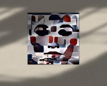 Abstract Inspiratie LXXIV van Maurice Dawson