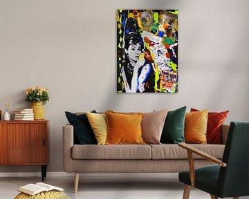 Audrey Hepburn iPhone Gelb von Kathleen Artist Fine Art